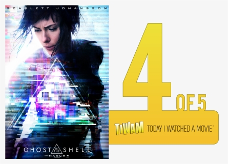 Ghost In The Shell 2017 Poster Hd Png Download Kindpng