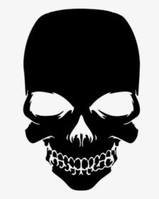 Skull Straight On Emblem Bo Call Of Duty Skull Png Transparent
