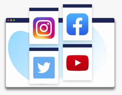 Facebook Instagram Youtube Whatsapp Hd Png Download Kindpng
