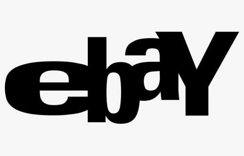 Ebay Logo Png Transparent Ebay Black And White Png Download Kindpng
