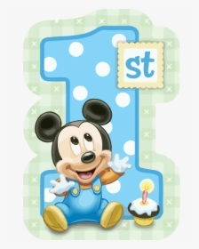 Wondrous Mickey Mouse 1St Birthday Clipart Png Baby Mickey Mouse 1St Funny Birthday Cards Online Elaedamsfinfo