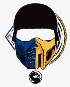 Mortal Kombat Scorpion Mask Photo Clipart Png Download