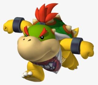 Super Mario Bros Bowser Jr X Peach Hd Png Download Kindpng