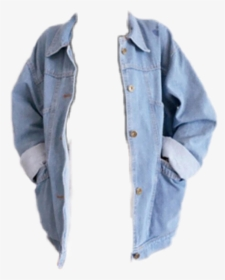 Transparent Denim Jacket Png Loose Denim Jacket Girls Png Download Kindpng