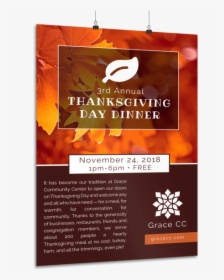 Thanksgiving Dinner Poster Template Preview Flyer Hd Png