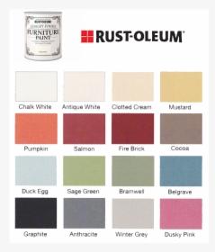 Rustoleum Chalk Paint Colour Chart Hd Png Kindpng