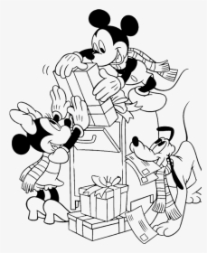 Disney Christmas Coloring Pages Hd Png Download Kindpng