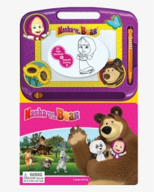 Masha And Bear Puzzles 4 In 1 Hd Png Download Kindpng