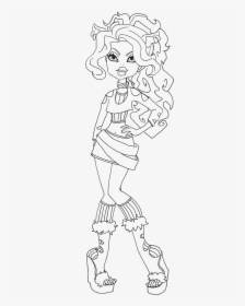 Monster high coloring pages | The Sun Flower Pages | 280x224