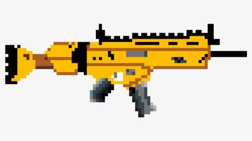 Pixel Art Sniper Fortnite Hd Png Download Kindpng
